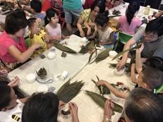 6月16日龙光玖龙玺端午佳节包粽子DIY活动温馨启幕